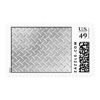 Diamond Plate Metal Pattern Stamp Set