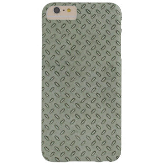 Diamond Plate Metal Texture Background Barely There iPhone 6 Plus Case