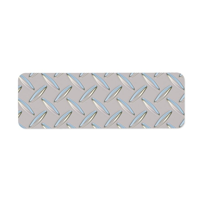 diamond plate metallic border-#17