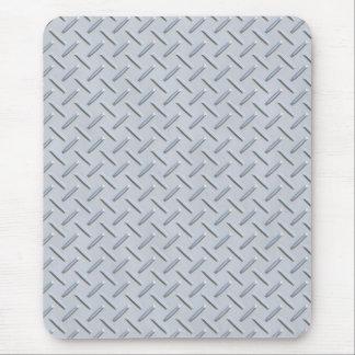 Diamond plate mouse pad