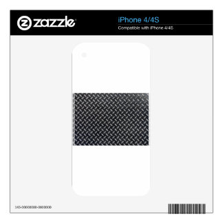 diamond-plate pattern skin for iPhone 4