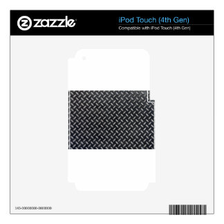 diamond-plate pattern skins for iPod touch 4G