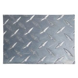 Diamond Plate Photo Cloth Placemat