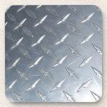 Diamond Plate Photo Coaster