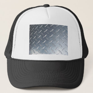 Diamond Plate Photo Trucker Hat