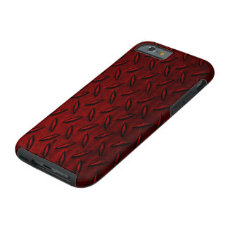 Diamond Plate Red iPhone 6 Case