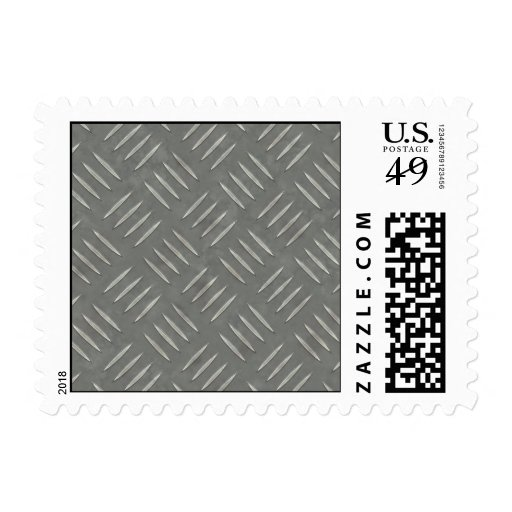 Diamond Plate Stainless Steel Textured Stamp