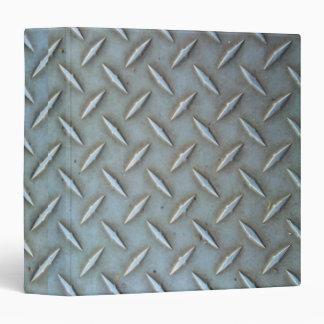Diamond Plate Steel Binder