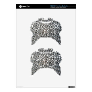 Diamond Plate Xbox 360 Controller Decal