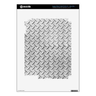 Diamond Plating Background Skins For iPad 3