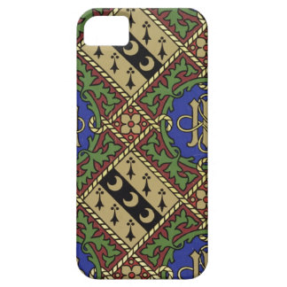 Diamond print ecclesiastical wallpaper design iPhone SE/5/5s case