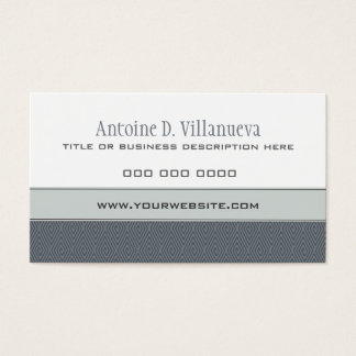 Diamond QR Business Card