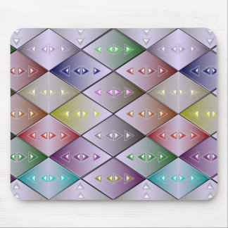 Diamond Quilt Pattern Mousepad