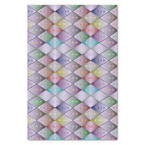Diamond Quilt Pattern Tissue Paper Gift Wrap