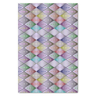Diamond Quilt Pattern Tissue Paper Gift Wrap