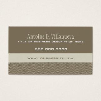 Diamond Rhombic QR Business Card
