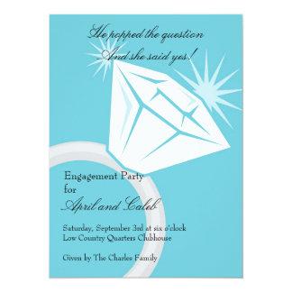 Diamond RIng Bling Card