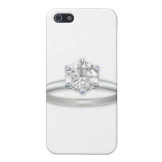 Diamond Ring Bling Clipart Graphic iPhone SE/5/5s Cover