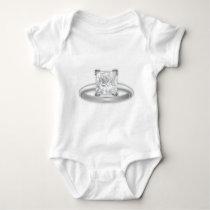 Diamond Ring Clipart T-shirts