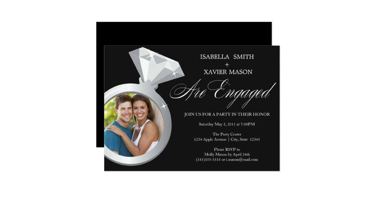Engagement Party Invitation – gangcraft.net