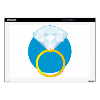 Diamond Ring Laptop Skins