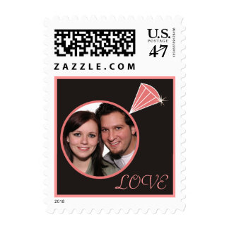 Diamond Ring Love Stamps