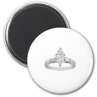 Diamond Ring magnet
