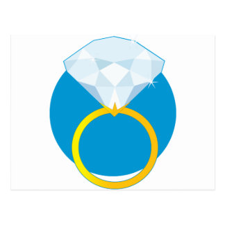 Diamond Ring Postcard