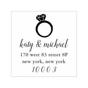 Engagement Stamps Gifts on Zazzle