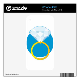 Diamond Ring Skin For The iPhone 4S