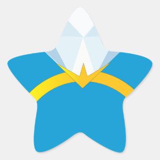 Diamond Ring Star Sticker