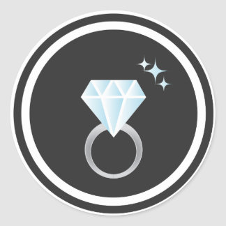 Diamond Ring Sticker