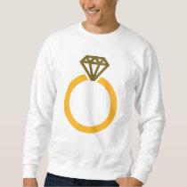 Diamond ring sweatshirt