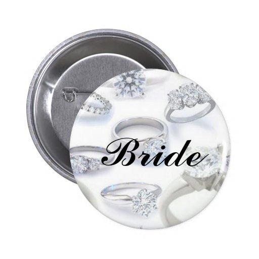 Diamond Rings Pin