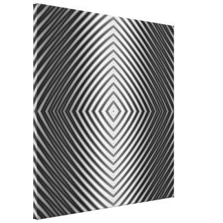 Diamond Ripples Canvas Print