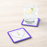 Diamond Rosary Drink Coaster
