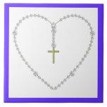 Diamond Rosary Tiles