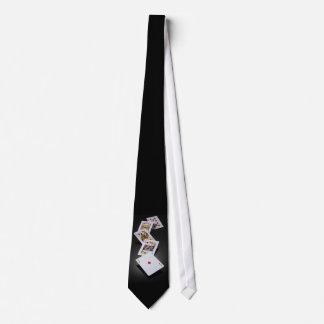 Diamond Royal Flush Neck Tie