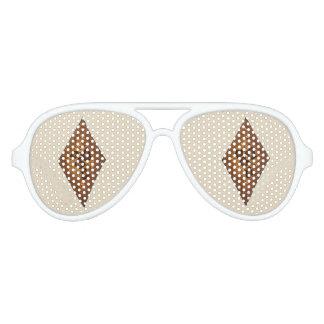 Diamond Sand Tart Christmas Sugar Cookie Holiday Aviator Sunglasses