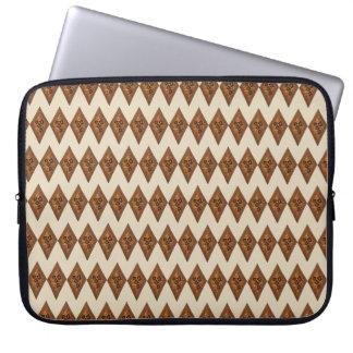 Diamond Sand Tart Christmas Sugar Cookie Holiday Laptop Sleeve