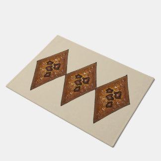 Diamond Sand Tart Classic Christmas Cookie Holiday Doormat