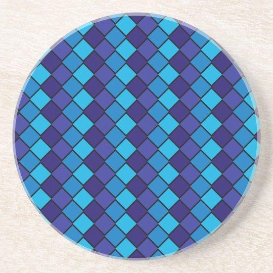 Diamond Series---Blue Coaster 1 of  many colors