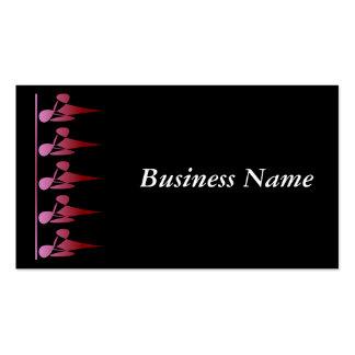 Diamond Shadow Black Business Card