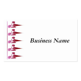 Diamond Shadow White Business Card