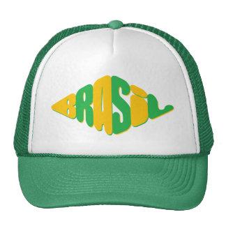 diamond shape design for Brazil fans Trucker Hat