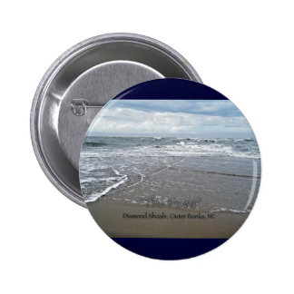 "Diamond Shoals ""The Point"" OBX North Carolina Pinback Button"