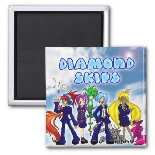 Diamond Skies Magnet