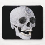 Diamond skull product mouse pads
