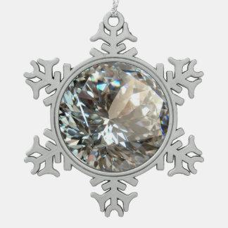 DIAMOND SNOWFLAKE ORNAMENT