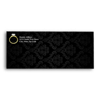 Diamond Solitaire Ring Envelope